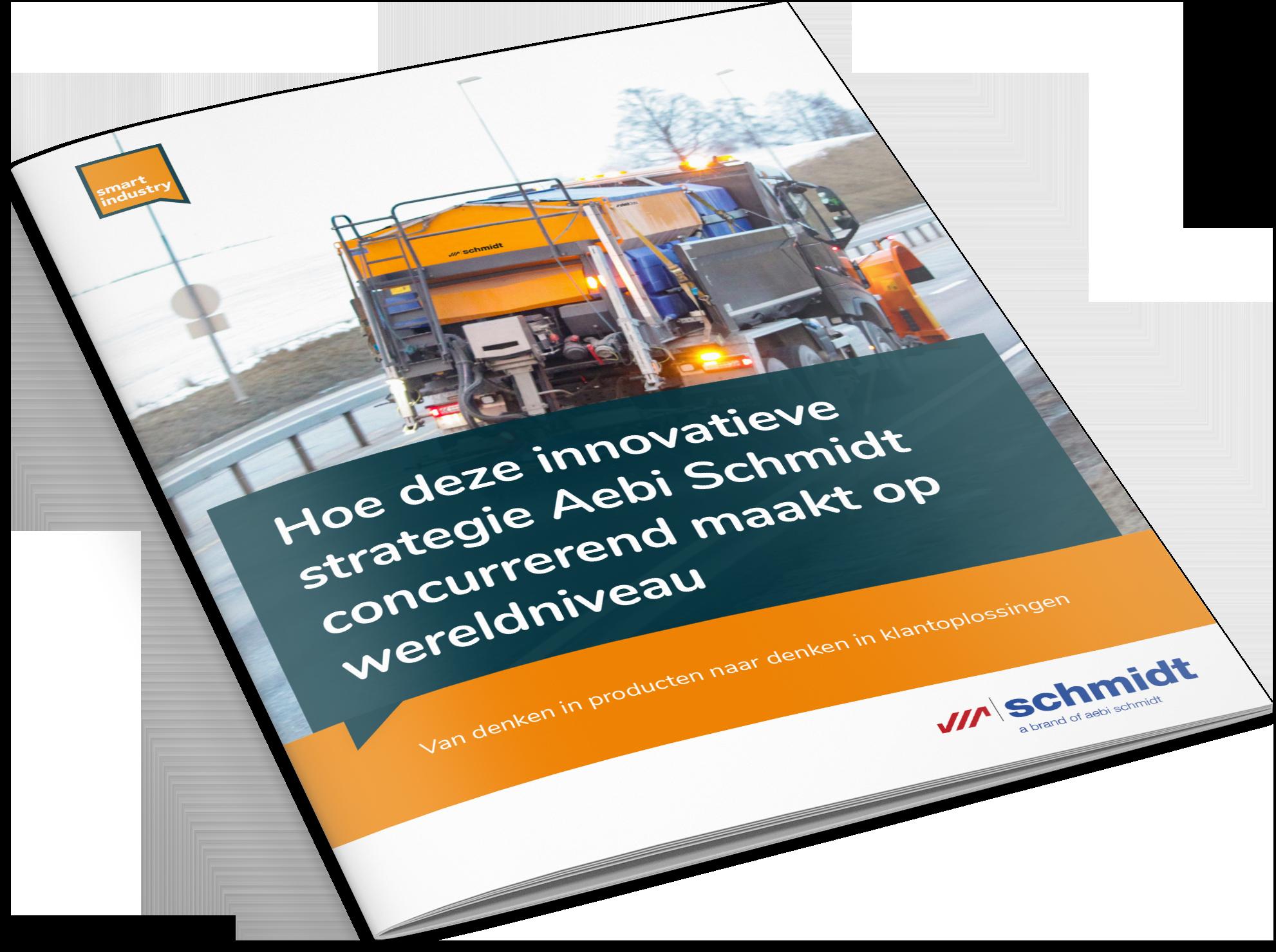 Cover-Smart Industry Case study Aebi Schmidt