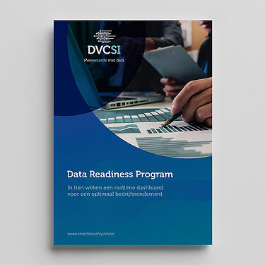 Brochure kaft, Data Readiness Program